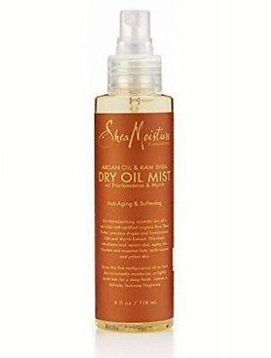 SheaMoisture Dry Oil Mist, Argan Oil and Raw Shea, 4 fl oz