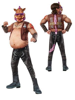 Bebop Halloween Costume (Boys Deluxe TMNT Bebop Pig Halloween)