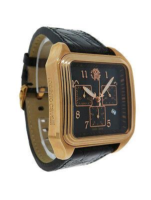 Roberto Cavalli R7251692025 Venom Men's Analog Chronograph Date Crocodile Watch