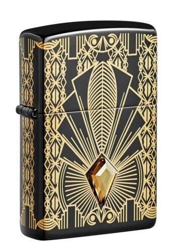 Zippo Limited Edition Lighter, 2021 COTY, Art Deco Design, 49500, New In Box