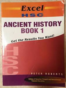 HSC Ancient History texts Killarney Heights Warringah Area Preview
