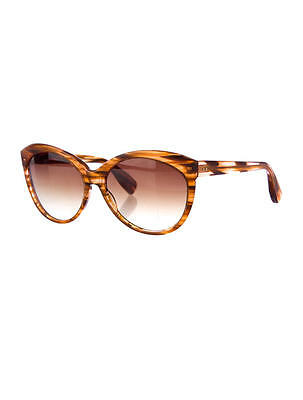 Brand New DITA JACQUARD 22014DBrown Feather / Brown Gradient Lens Sunglasses