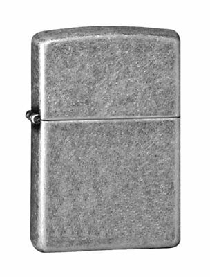Zippo Armor Antique Silver Plate Lighter, Windproof #28973 for sale  Shipping to Canada