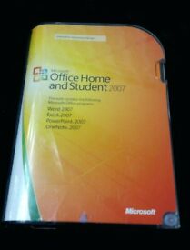 Microsoft Office 2007 Genuine Install Disc and License