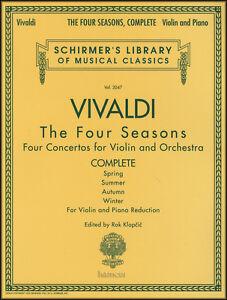 vivaldi las cuatro estaciones complete violin piano