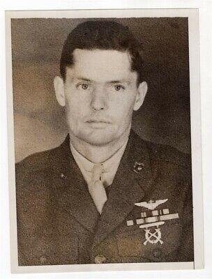 1938 USMC Marine Killed in Plane Crash Sgt Benjamin Belcher of Quantico Photo