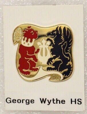 Army ROTC DI Pin: George Wythe High School (Richmond, VA) - c/b, W30