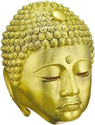 OGAWA STUDIOS Authentic Golden Buddha Mask Festival Halloween Party Costume](Golden Buddha Halloween Costume)
