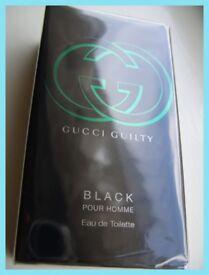 Gucci GUILTY BLACK (MEN) 50ml NEW / SEALED / GENUINE - RRP £49
