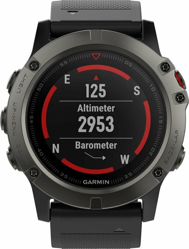 Garmin fenix 5X Sapphire Smartwatch 51mm - Slate Gray | Brand New |