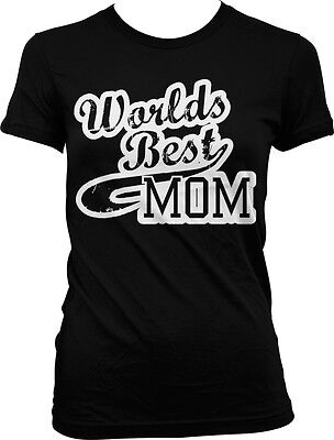 Worlds Best Mom - Mommy Mother Momma Mother's Day Juniors T-shirt - Worlds Best Mom