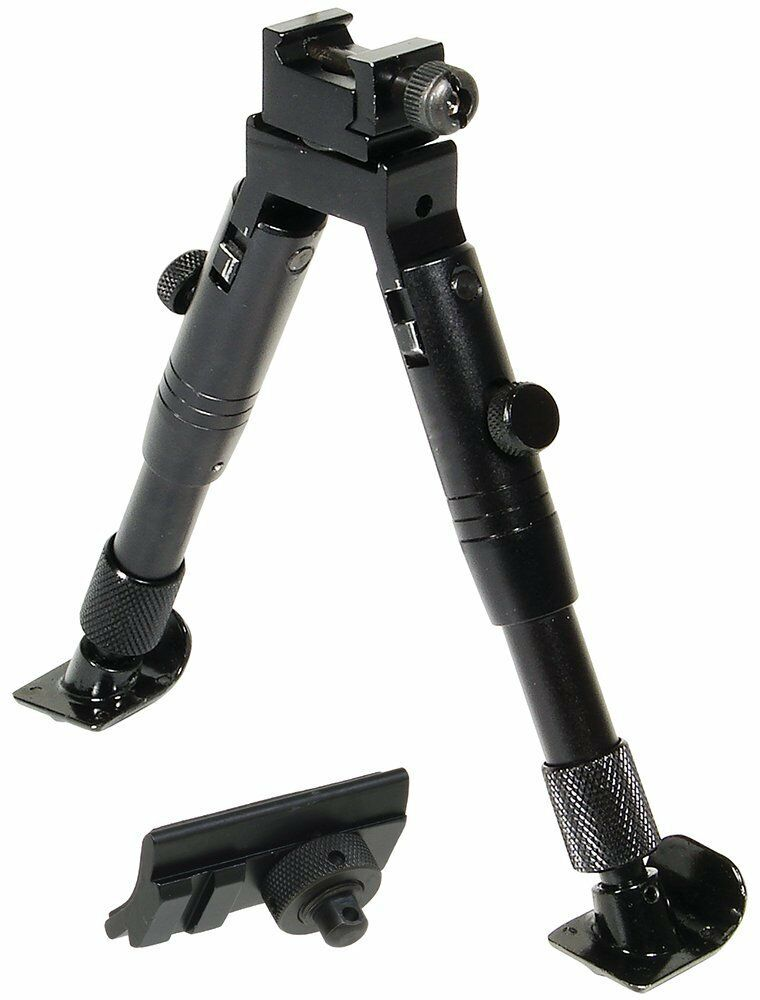 "UTG TL-BP28ST Shooter's SWAT Bipod, Steel Feet, Height 5.8""-"