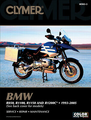 CLYMER Repair Manual for BMW R850, R1100, R1150 & R1200C 1993-2005 for sale  Shipping to Ireland