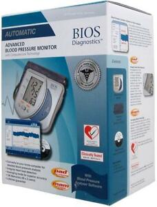 New - ADVANCED BLOOD PRESSURE MONITOR SYSTEM WITH COMPUTER INTERFACE