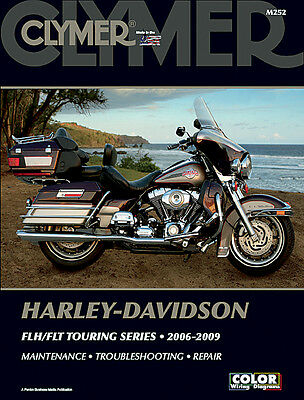 CLYMER Repair Manual for Harley-Davidson FLH/FLT Touring Series 2006-2009
