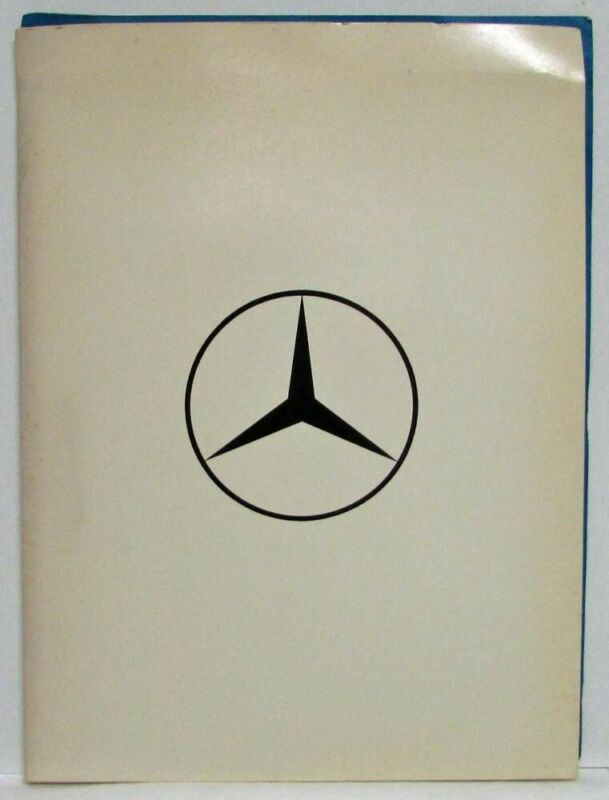 1976 Mercedes-Benz Press Kit