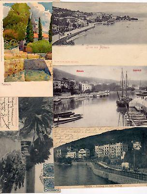 ABBAZIA OPATIJA CROATIA 65 Vintage Postcards pre-1940