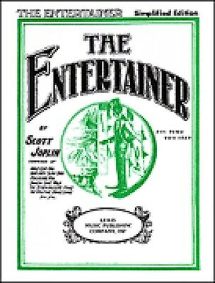 The Entertainer Sheet Music Simplified Piano Solo Larrabee Sheets NEW 000511144