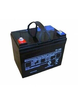 Batería para carro de golf 12V 33 Amp