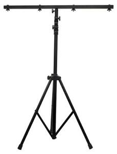 NEW ADJ Products LTS-6 Tripod Stage Light Stand, Black Condition: New