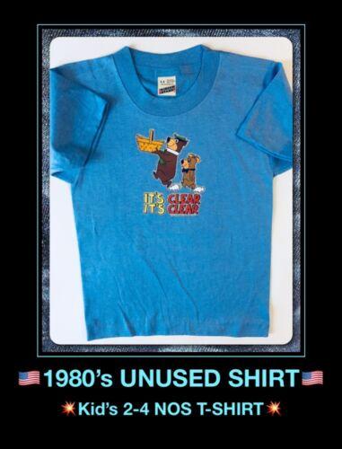 YOGI BEAR Classic Cartoon Hanna Barbera Childs Childrens Kids Youth vtg T-Shirt