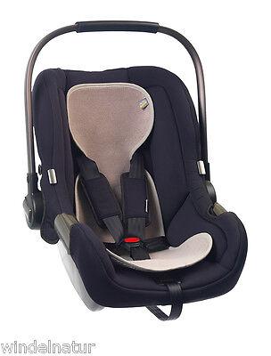 AeroMoov atmungsaktive Autositzeinlage Baumwoll Frottee Einlage Autositz Gr. 0+