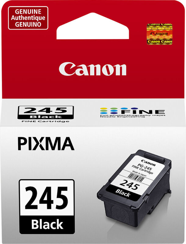 Canon - 245 Standard Capacity - Black Ink Cartridge - Black