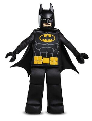 Batman Lego Prestige Child Costume, 23742, Black, Disguise