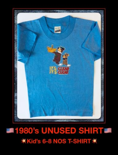 Classic Cartoon Yogi Bear TV Show Movie Childs Childrens Kids Youth vtg T-Shirt