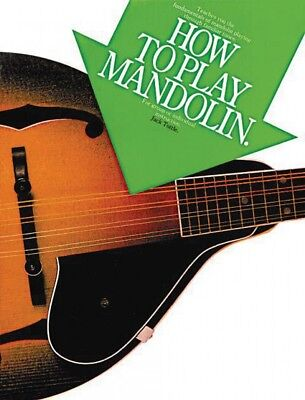 How to Play Mandolin Sheet Music Book NEW 014015475