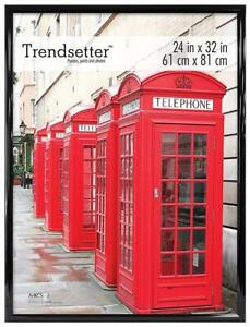 NEW MCS Trendsetter Poster Frame, 24 X 32-Inch, Black Condtion: New, 24 x 32