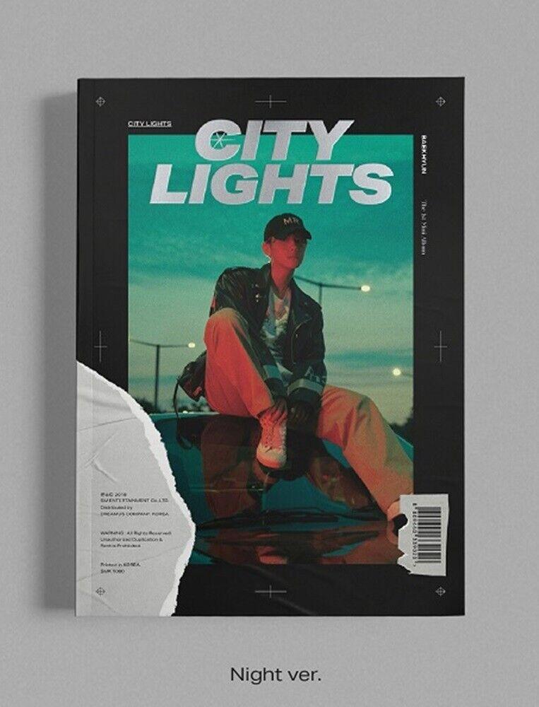 Baekhyun Exo 1st Mini Album City Lights Night Ver Cd Book