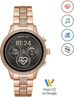 Michael Kors Gen 4 Runway Women's Glitz Touchscreen SmartWatch MKT5052J Open Box