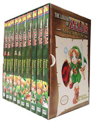 The Legend of Zelda Box Set 1-10 Manga Akira Himekawa Brand NEW ()