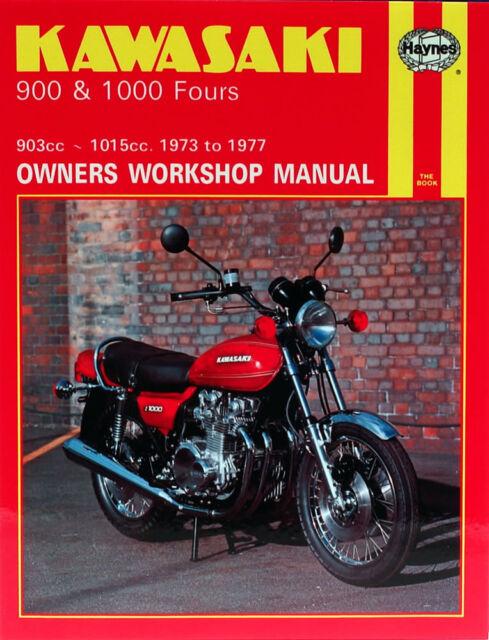 Kawasaki Z900 Z1000 Z1 900 1000 Fours 1973-77 Haynes Workshop Manual