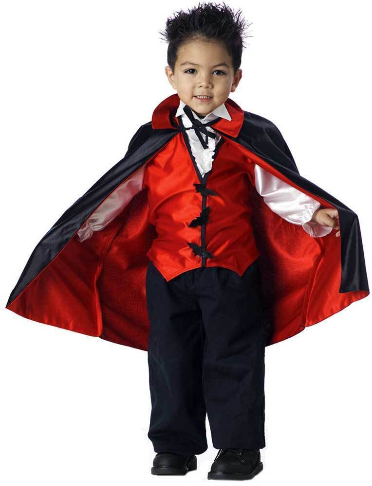 California Costumes Vampire Boy Costume Size M 3-4 *NEW FREE SHIPPING*