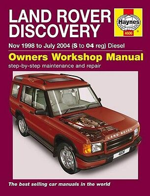 1998-2004 Land Rover Discovery Diesel Repair Service Workshop Manual Book 9515