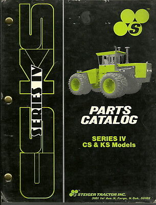 Steiger Series Iv Cs Ks Tractor Models Parts Manual