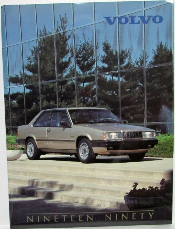 1990 Volvo Press Kit - 240 740 760 780