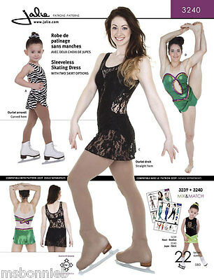 (Jalie 3240 Tank Skating Dress w/2 Skirt Options, Attached Panty Sewing Pattern)