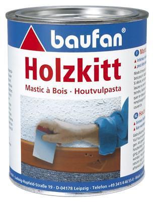 Lösung Holz (Baufan Holzkitt 1 kg Holzspachtel Spachtelmasse Holz lösungsmittelfrei)