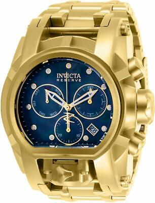 Invicta Reserve 26706 Men's Chronograph Dual Time Date Mother Of Pearl Watch