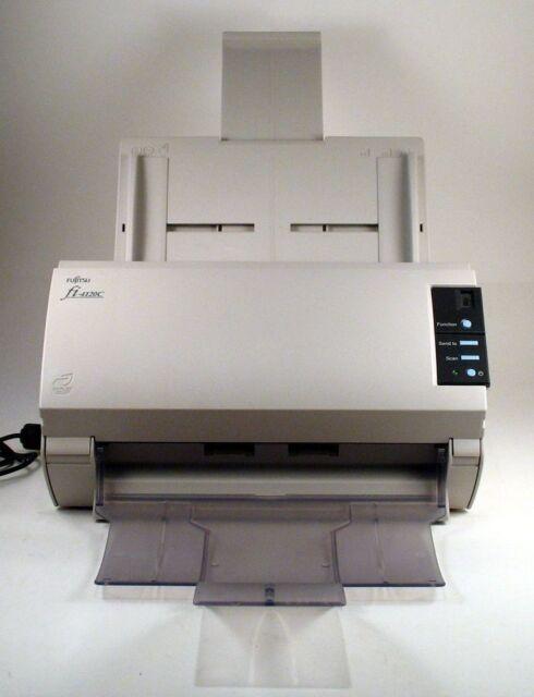 Fujitsu ScanPartner FI-4120C Color Duplex High Speed Document Scanner