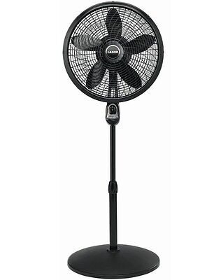 *Brand New* Lasko 18 in. Cyclone Pedestal Fan in Black with Remote Control 1843