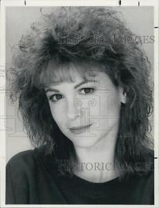 1989 Press Photo Dinah Manoff Television Film Actor