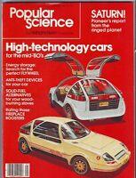 Popular Science Magazine JANUARY 1980 HIGH TECH CARS, ANTI THEFT
