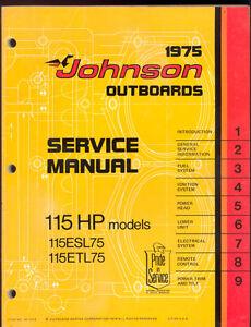 115 Johnson Outboard Manual