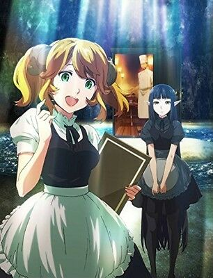New Restaurant to Another World Isekai Shokudou Vol.1 Limited Edition DVD Japan