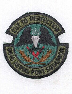 USAF Air Force Patch: 66th Aerial Port Squadron - subdued
