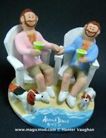 Gay Wedding CakeTopper/Statue